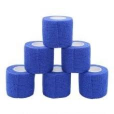 Cohesive Bandage 5.0cm - Blue
