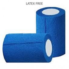 LATEX FREE - Cohesive Bandage 7.5cm - Blue