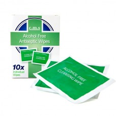Antiseptic Alcohol-Free Cleansing Wipes (10 Sachets)