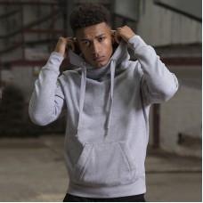 Cross neck hoodie