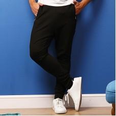 Dropped crotch jog pants