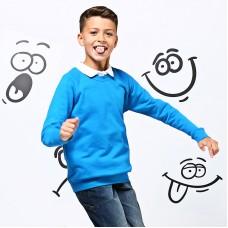 Kids Academy raglan sweatshirt