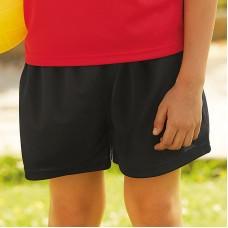 Kids performance shorts