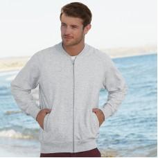Lightweight baseball sweatshirt jacket