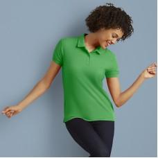 Women's DryBlend® double piqué sport shirt