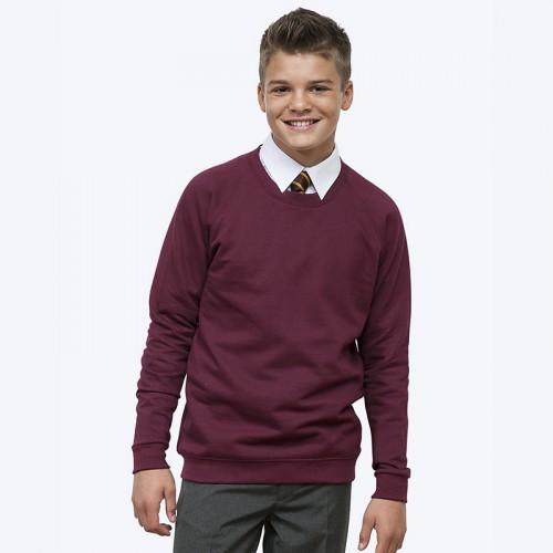 Academy raglan sweatshirt
