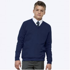 Academy v-neck sweatshirt