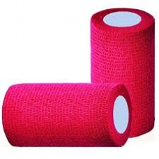 Cohesive Bandage 10cm - Red